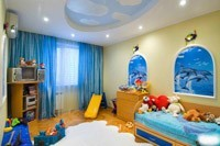 Отделка детской комнаты в Новокуйбышевске